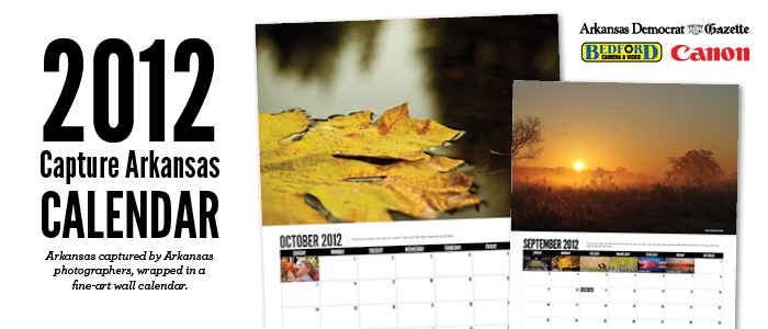 Capture Arkansas 2012 Wall Calendar